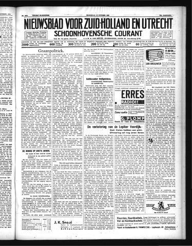 Schoonhovensche Courant 1938-10-19