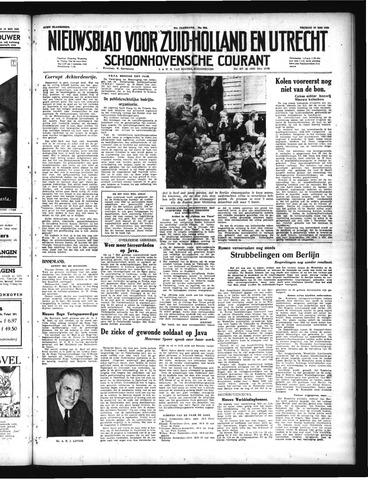 Schoonhovensche Courant 1949-05-20