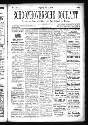 Schoonhovensche Courant 1917-04-13