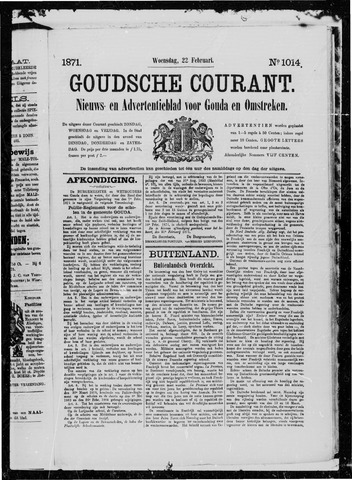 Goudsche Courant 1871-02-22