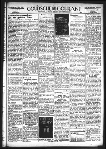 Goudsche Courant 1944-02-10