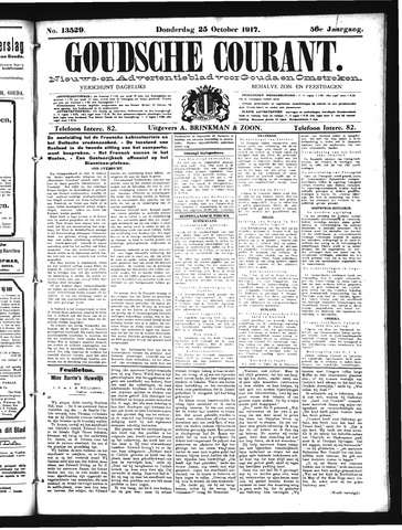 Goudsche Courant 1917-10-25