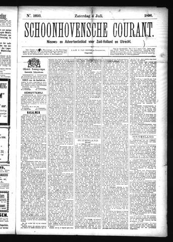 Schoonhovensche Courant 1896-07-04