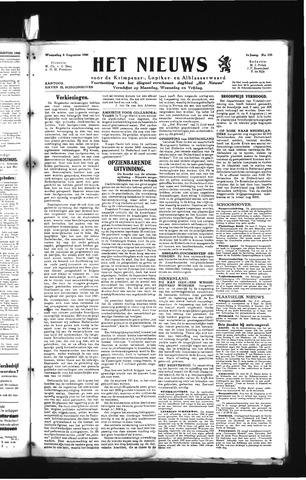 Schoonhovensche Courant 1945-08-08