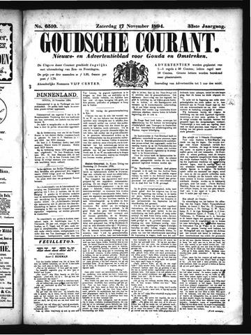 Goudsche Courant 1894-11-17