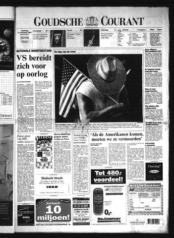 Goudsche Courant 2001-09-15