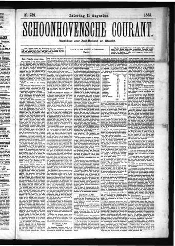 Schoonhovensche Courant 1883-08-11