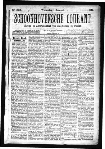 Schoonhovensche Courant 1913
