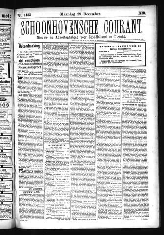 Schoonhovensche Courant 1919-12-29