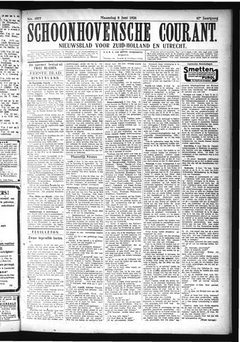 Schoonhovensche Courant 1925-06-08
