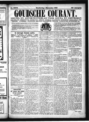 Goudsche Courant 1923-11-01