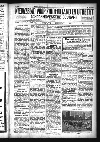 Schoonhovensche Courant 1933-07-03