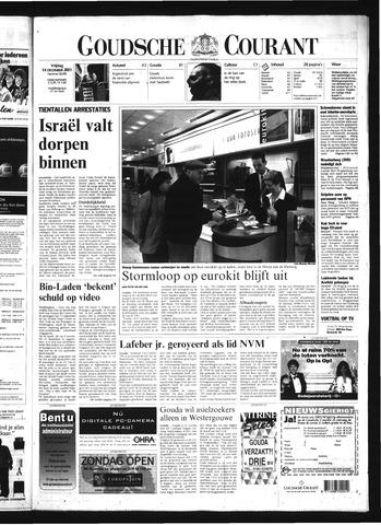 Goudsche Courant 2001-12-14