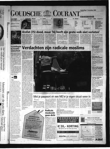 Goudsche Courant 2004-11-11