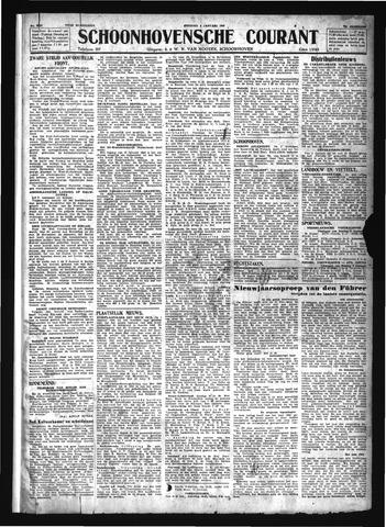 Schoonhovensche Courant 1944