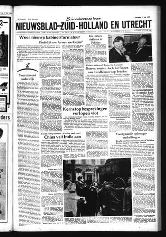 Schoonhovensche Courant 1963-07-17