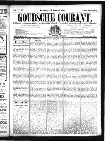 Goudsche Courant 1912-01-27