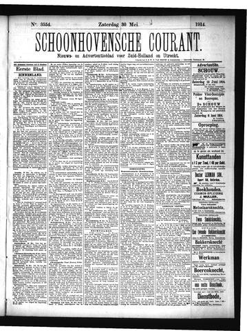 Schoonhovensche Courant 1914-05-30