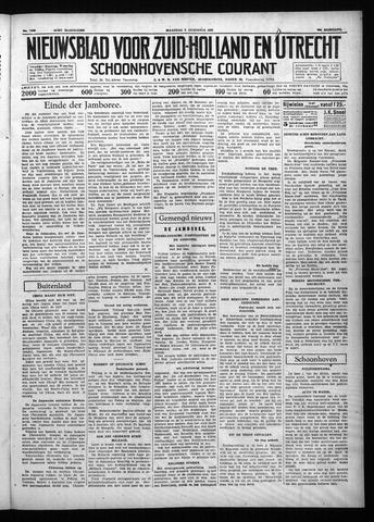 Schoonhovensche Courant 1937-08-09
