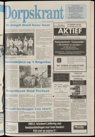 Dorpskrant 1991-06-26