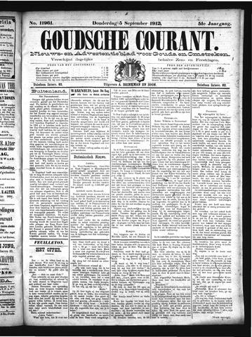 Goudsche Courant 1912-09-05