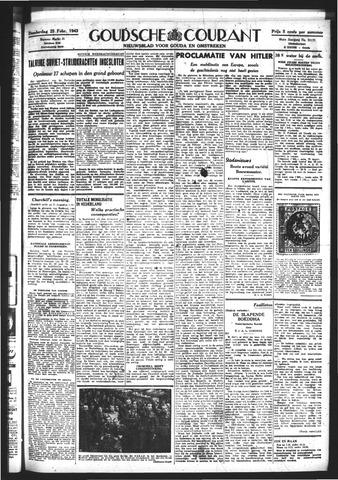 Goudsche Courant 1943-02-25