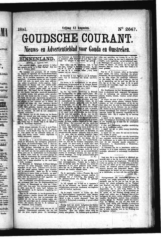 Goudsche Courant 1881-08-12