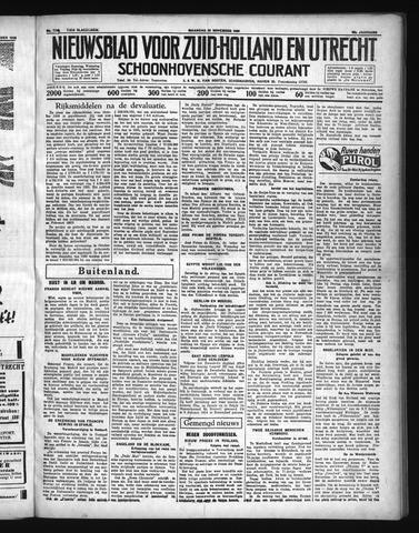 Schoonhovensche Courant 1936-11-23