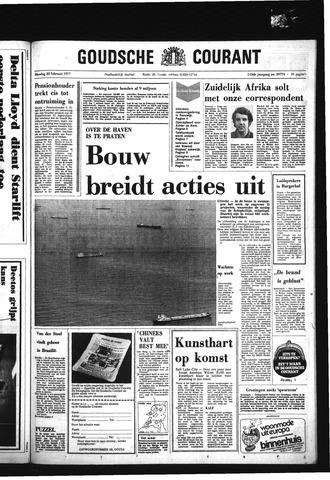 Goudsche Courant 1977-02-22