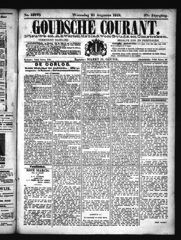 Goudsche Courant 1918-08-21