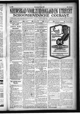 Schoonhovensche Courant 1928-03-28