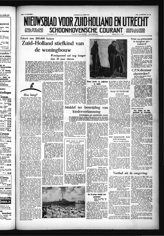 Schoonhovensche Courant 1955-04-13