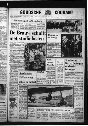 Goudsche Courant 1972-01-25