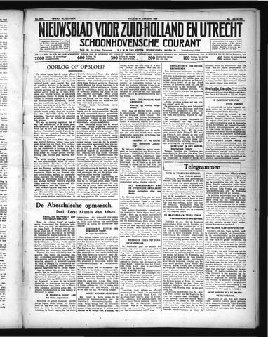 Schoonhovensche Courant 1936-01-10