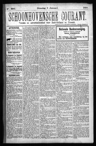 Schoonhovensche Courant 1918