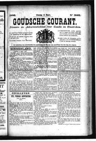 Goudsche Courant 1889-03-12