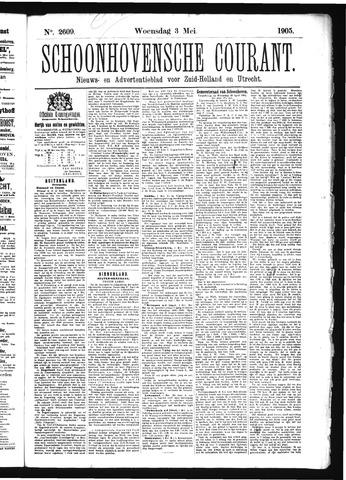 Schoonhovensche Courant 1905-05-03