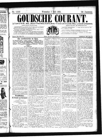 Goudsche Courant 1920-07-07