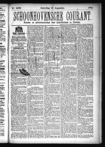 Schoonhovensche Courant 1914-08-15