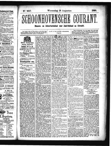 Schoonhovensche Courant 1899-08-16