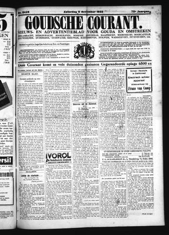 Goudsche Courant 1933-11-11