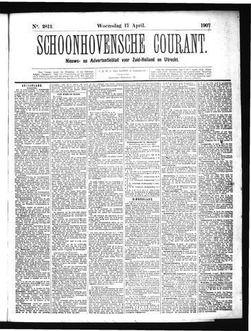Schoonhovensche Courant 1907-04-17