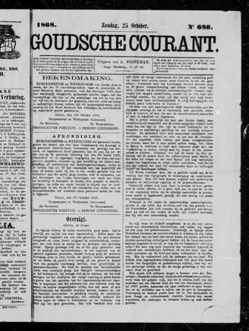 Goudsche Courant 1868-10-25