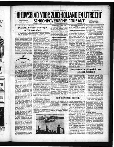 Schoonhovensche Courant 1951-09-26