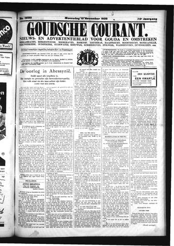 Goudsche Courant 1935-11-13