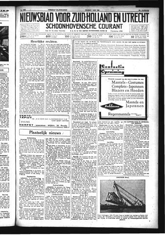 Schoonhovensche Courant 1934-06-01
