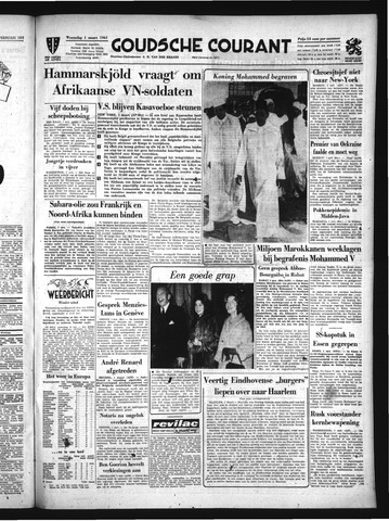Goudsche Courant 1961-03-01