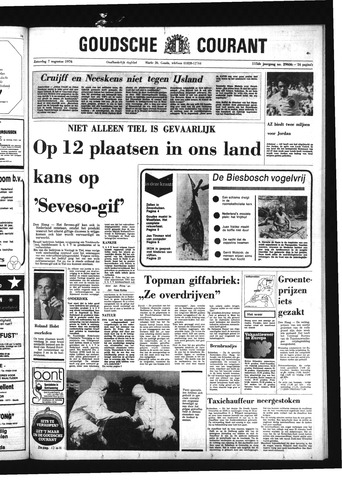 Goudsche Courant 1976-08-07