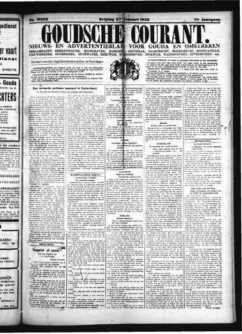 Goudsche Courant 1933-01-27