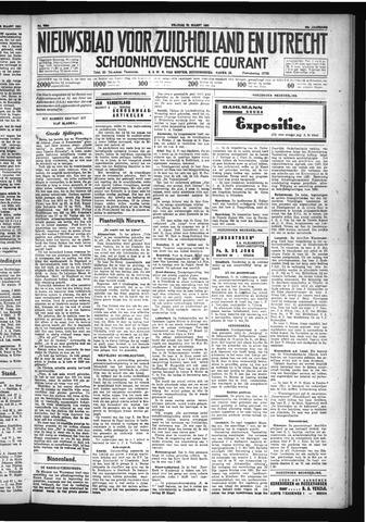 Schoonhovensche Courant 1931-03-20